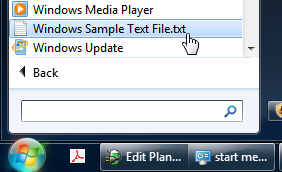 Add files or folders to the All Users start menu in Windows 7