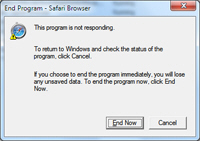 End program in Windows 7