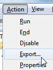 Export or backup tasks and reminders from the Task Scheduler in Windows 7
