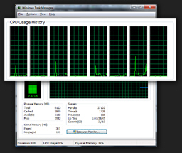 Number of cores for processor CPU in Windows 7