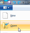 Open an image file in Paint on Windows 7