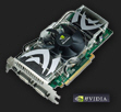 Sample NVIDIA or ATI graphics card (video card)