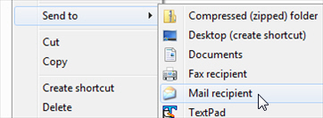 how to send mp3 files through email