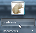 What is your user name in Windows 7?