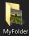 Custom picture as folder preview file in Windows 7
