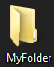 Default folder icon in Windows 7