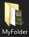 Restore default file preview for the folder
