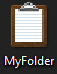New custom folder icon