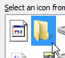 Restore original folder icon in Windows 7