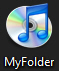 Using iTunes icon for a folder in Windows 7